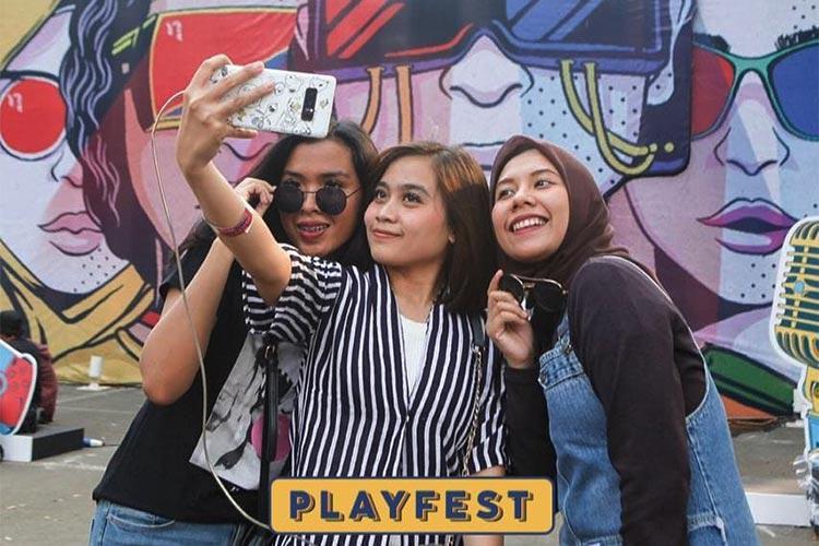 Playfest 2019: Festival Kreatif Bertabur Pelaku Seni Indonesia